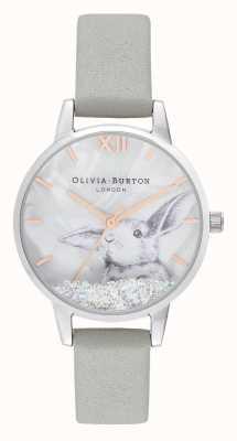 Olivia Burton | les femmes | pays des merveilles de l'hiver | boule de neige en cristal lapin | OB16WL86
