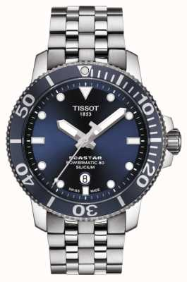 Tissot | seastar 1000 powermatic | bracelet en acier inoxydable | T1204071104101