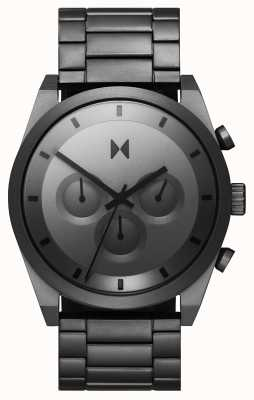 MVMT Element chrono | bracelet en acier inoxydable gris | cadran gris 28000048-D