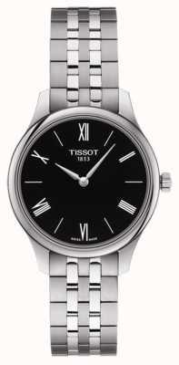 Tissot | tradition des femmes | bracelet en acier inoxydable | cadran noir T0632091105800
