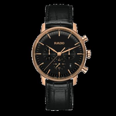 Rado Coupole chronographe quartz classique à quartz noir R22911165