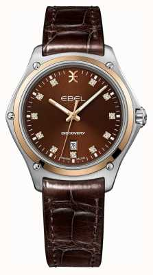 EBEL Femmes | découverte | cadran marron | sangle interchangeable 1216425