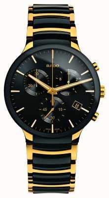 Rado Centrix Chronograph XL Céramique high-tech dorée R30134162