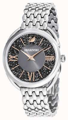 Swarovski | glam cristallin | bracelet en acier inoxydable | cadran gris 5452468