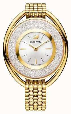 Swarovski Cristallin | ovale | bracelet pvd en or | cadran argenté 5200339