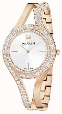 Swarovski | éternel | bracelet en acier rose doré | ensemble de cristal | blanc 5377576