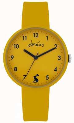 Joules | côte | bracelet silicone moutarde | moutarde cadran | JSL020Y
