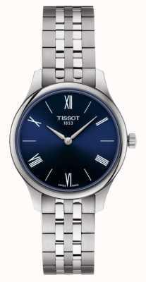 Tissot | tradition | bracelet en acier inoxydable pour femme | cadran bleu | T0632091104800