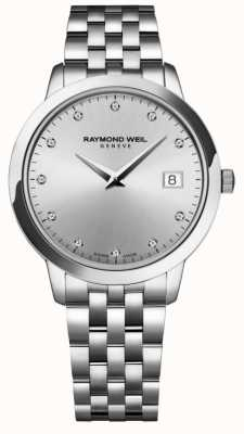 Raymond Weil Femmes | toccata | diamant | cadran argenté 5388-ST-65081