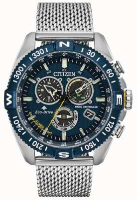 Citizen Mens | chronométrage atomique | navihawk promaster à CB5846-52L