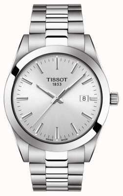 Tissot | monsieur | bracelet en acier inoxydable | cadran argenté | T1274101103100