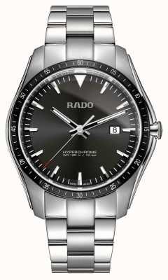 Rado Montre xxl en acier inoxydable hyperchrome avec cadran noir R32502153
