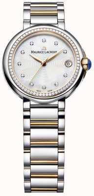 Maurice Lacroix Fiaba sertie de diamants deux tons nacre FA1004-PVP23-170-1