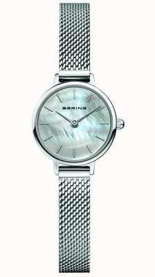 Bering | classique des femmes | bracelet en maille d'acier | nacre 11022-004