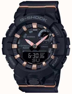 Casio | g-shock g-squad | bracelet en caoutchouc noir | Bluetooth intelligent | GMA-B800-1AER
