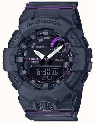 Casio   g-shock g-squad   bracelet en caoutchouc gris   Bluetooth intelligent GMA-B800-8AER