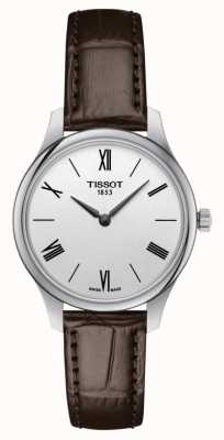 Tissot | tradition 5.5 dame | cuir marron | T0632091603800