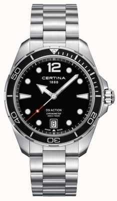 Certina Hommes | ds action | chronomètre | acier inoxydable C0324511105700