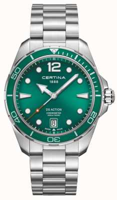 Certina Cadran Ds Action Chronometer Green C0324511109700