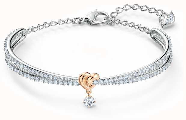 Swarovski | coeur à vie | métal mixte | bracelet | blanc 5516544