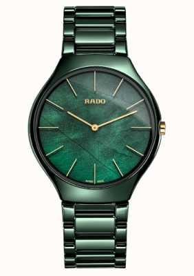 Rado Femmes | true thinline | céramique verte R27006912