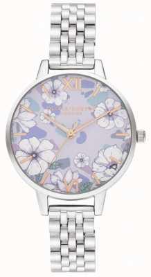 Olivia Burton Bracelet Groovy Blooms en or rose et argent OB16AN05