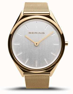 Bering | unisexe | ultra-mince | bracelet en maille d'or | 17039-334