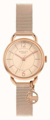 Radley | bracelet maille en or rose pour femme | cadran en or rose | RY4528