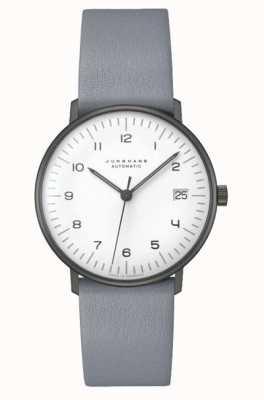 Junghans Verre saphir automatique Max bill | 38 mm noir et blanc 027/4007.02