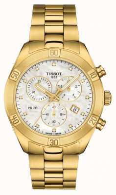 Tissot Femmes pr 100 | chronographe sport chic | nacre T1019173311601