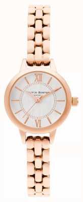 Olivia Burton | pays des merveilles | mini cadran | bracelet en or rose | OB16MC51
