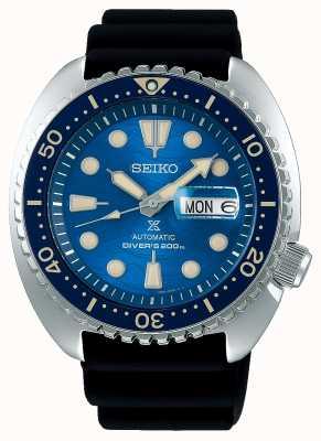 Seiko Prospex hommes mécanique | sauver l'océan | Caoutchouc noir SRPE07K1