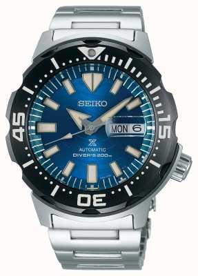 Seiko Prospex hommes mécanique | sauver l'océan | cadran bleu SRPE09K1