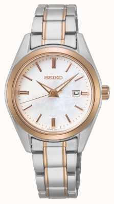 Seiko Quartz dames conceptuel | bracelet en acier bicolore SUR634P1
