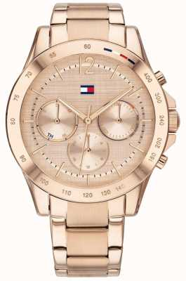 Tommy Hilfiger Haven | bracelet plaqué or rose | cadran rose 1782197