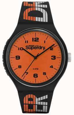 Superdry | course urbaine xl | silicone multicolore bleu | orange di SYG269BO