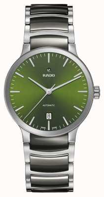 Rado Cadran vert en céramique haute technologie automatique Centrix R30010312