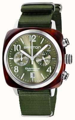 Briston Clubmaster classique   chronographe   19140.SA.T.26.NOL
