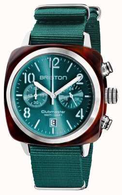 Briston Clubmaster classique | chronographe | 19140.SA.T.27.NE
