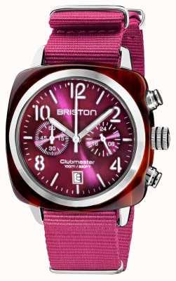 Briston Clubmaster classique   chronographe   19140.SA.T.32.NC
