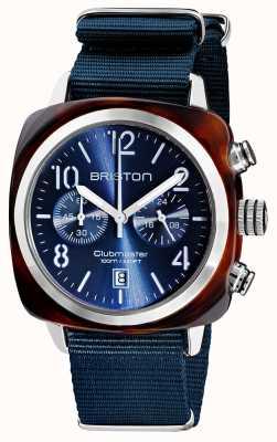 Briston Clubmaster classique   chronographe   19140.SA.T.33.NMB