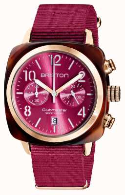 Briston Clubmaster classique | chronographe | 19140.PRA.T.28.NBER