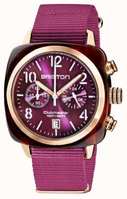 Briston Clubmaster classique | chronographe | 19140.PRA.T.32.NC