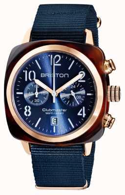 Briston Clubmaster classique   chronographe   19140.PRA.T.33.NMB
