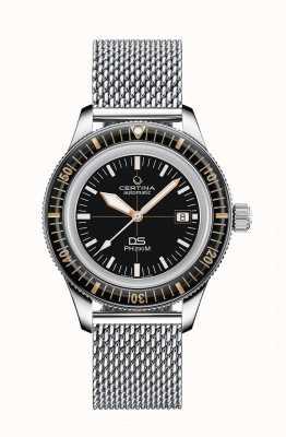 Certina Ds ph200m | automatique | lunette en céramique | bracelet en maille C0364071105001