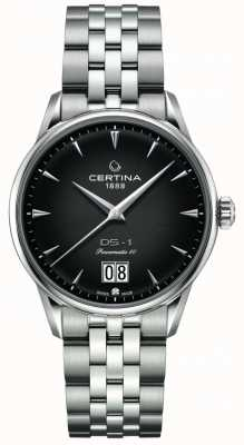 Certina Ds-1 grand rendez-vous | powermatic 80 | bracelet en acier inoxydable C0294261105100