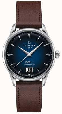 Certina Ds-1 grand rendez-vous | powermatic 80 | bracelet en cuir marron C0294261604100