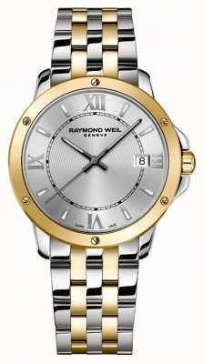 Raymond Weil Hommes | tango | Bracelet en acier 2 tons | cadran argenté 5591-STP-00657