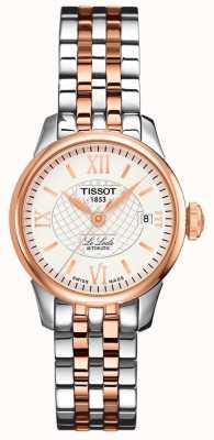 Tissot Femmes | le locle | automatique | acier rose bicolore T41218316