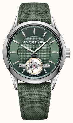 Raymond Weil Hommes | pigiste | automatique | cadran vert 2780-STC-52001